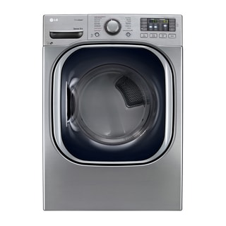 Graphite Steel LG Ultra Large Capacity SteamDryer with NFC Tag On (Gas)