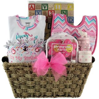Baby's First Birthday Large Gift Basket