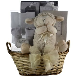 Bless This Baby Boy Christening Gift Basket