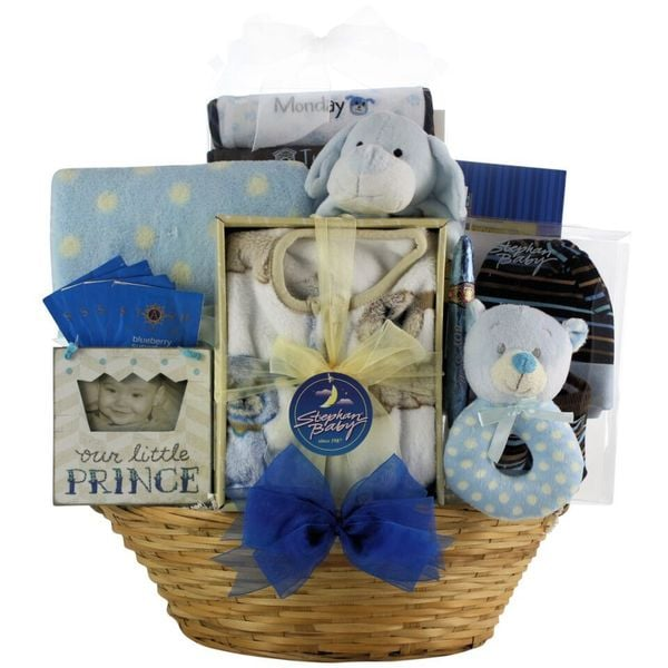 c9151024bcfa4 Great Arrivals Welcome Home Baby Boy Gift Basket