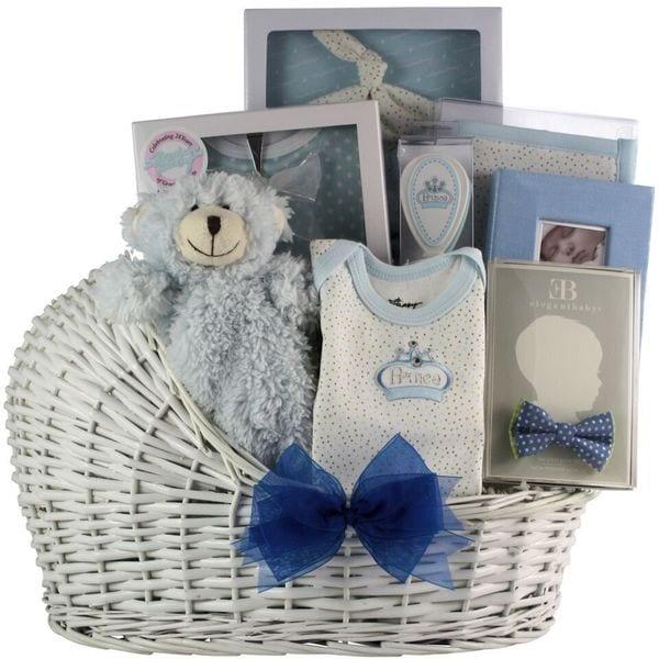 Shop Great Arrivals Little Prince Baby Boy Gift Basket