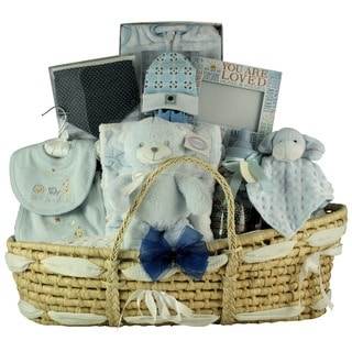 Great Arrivals Best Wishes Baby Boy Gift Basket