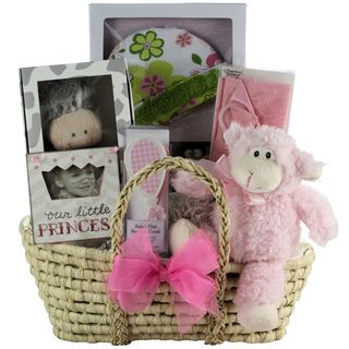 Great Arrivals Beautiful Baby Girl Gift Basket