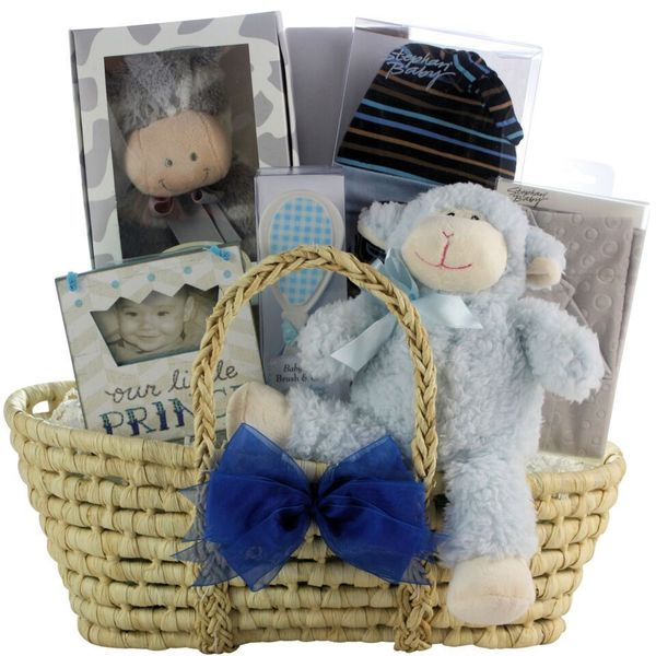 a043dbd611428 Great Arrivals Bouncing Baby Boy Gift Basket