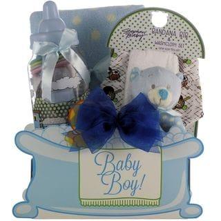 Great Arrivals Baby Essentials Boy Gift Basket