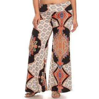 MOA Collection Plus Women's Pattern Pants