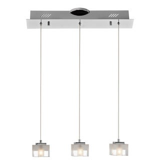 Kichler Lighting Contemporary 3-light Chrome Pendant