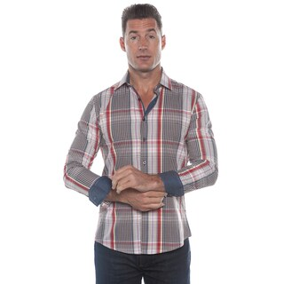 Isaac B. Brown Long Sleeve Button Down Shirt (As Is Item)