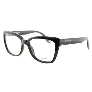 Givenchy GV 0005 D28 Black Plastic Cat-Eye 52mm Eyeglasses