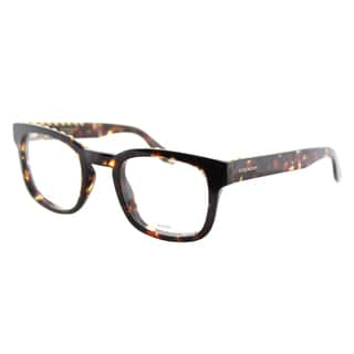 Givenchy GV 0006 TLF Studed Havana Plastic Square 49mm Eyeglasses