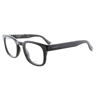 Givenchy GV 0006 807 Studed Black Plastic Square 49mm Eyeglasses