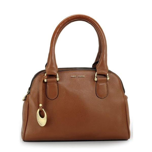 Handmade Phive Rivers Women's Leather Handbag (Italy) - One size