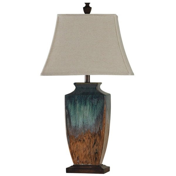 reactive glaze ceramic table lamp free shipping today