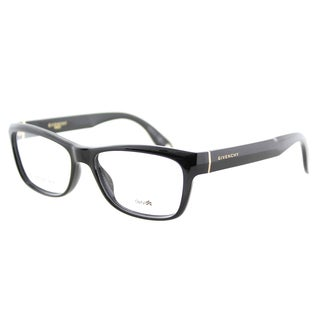 Givenchy GV 0003 D28 Black Plastic Rectangle 52mm Eyeglasses