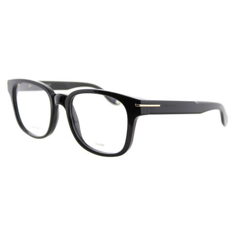 givenchy gv 0001 807 black plastic square 51mm eyeglasses - Eyeglass Frames Online