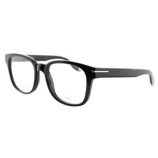 Givenchy GV 0001 807 Black Plastic Square 51mm Eyeglasses