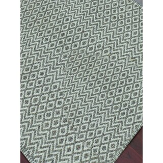 Hand-Woven Broadmoor Beige Wool and Cotton Durry Area Rug (2' x 3')
