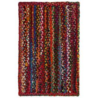 Brilliant Ribbon Multi Colored Rug (21 x 34-inch)