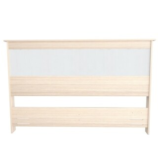 Inval Laricina-White and Beech Headboard