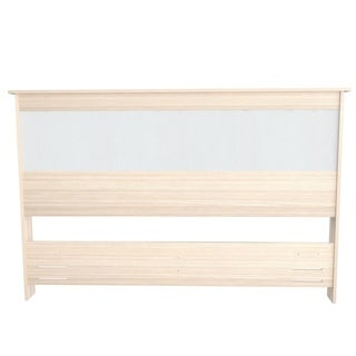 Inval Laura Laricina-White and Beech Headboard
