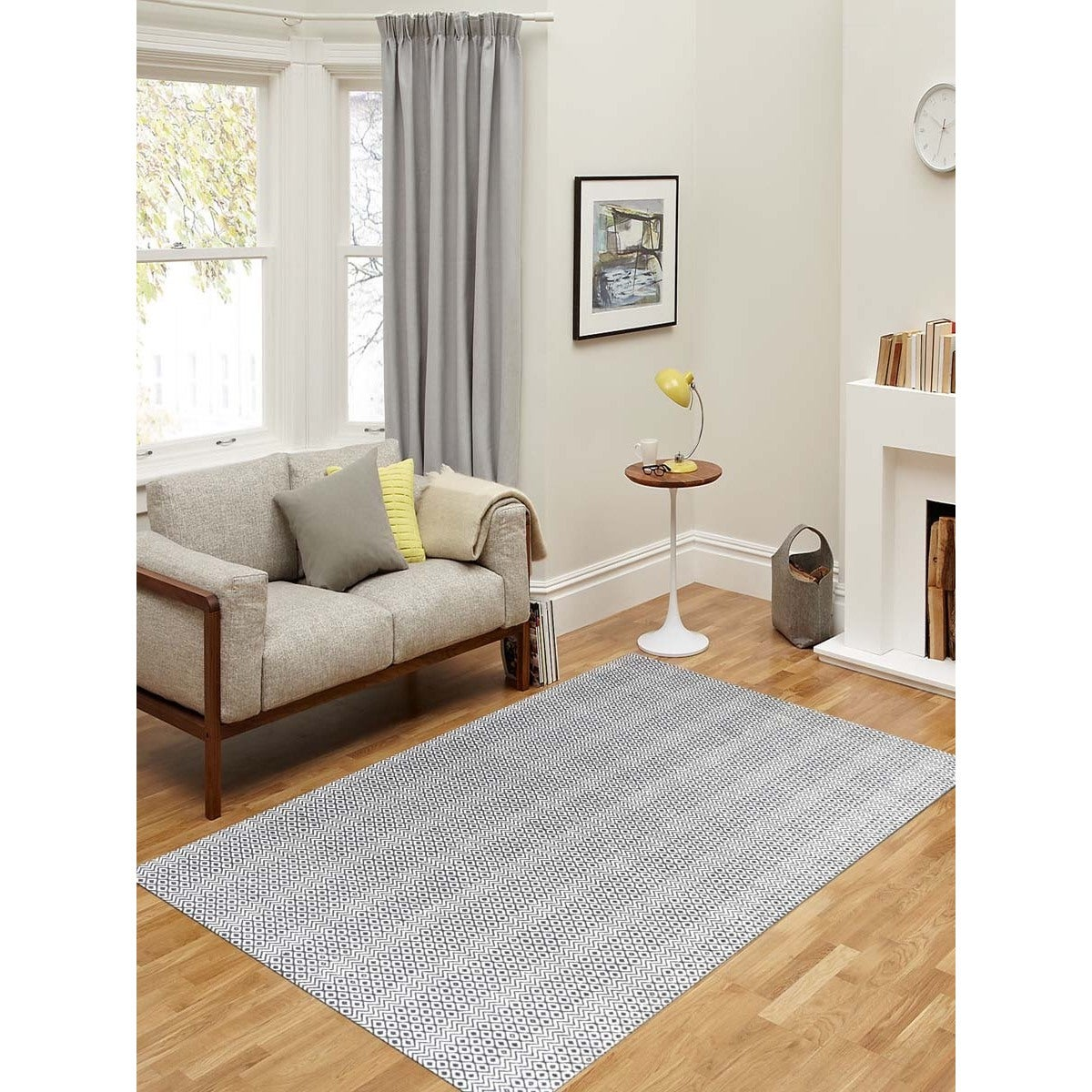 Houndstooth 5x8 - 6x9 Rugs For Less | Overstock