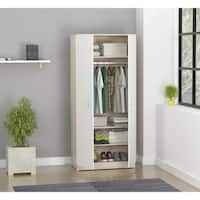 Laurel Creek Chester White/ Beech Storage Armoire
