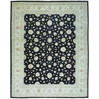 Peshawar Oversize Pure Wool Hand Knotted Oriental Rug (13' x 16')
