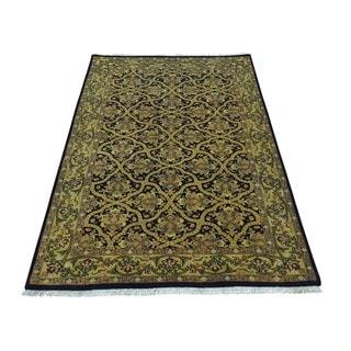 Prayag Design 300 KPSI New Zealand Wool Handmade Rug (2'10 x 5')