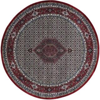 Bidjar Mahi 300 KPSI Round New Zealand Wool Handmade Rug (8' x 8')