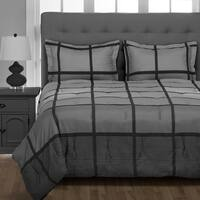 Premium Down Alternative Twin/Twin XL Comforter Set - Super-Soft - Grey