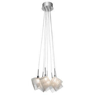 Kichler Lighting Contemporary 7-light Chrome Pendant