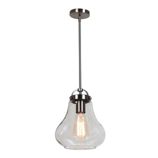 Access Lighting Flux 1-light Antique Nickel Pendant