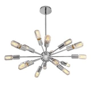 Access Lighting Flux 16-light 19 inch Chrome Chandelier
