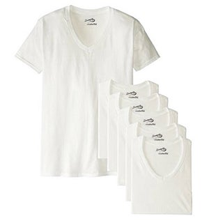 Men's V-Neck T-Shirt (Pack of 6) (5 options available)