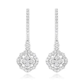 Luxurman 14k Gold 1ct TDW Diamond Drop Earrings https://ak1.ostkcdn.com/images/products/11659009/P18589257.jpg?impolicy=medium