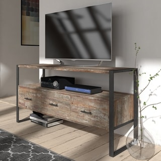 The Swanson Antique Grey Finish Media Console