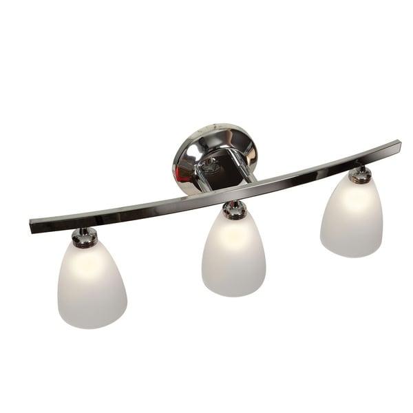 Shop Access Lighting Sydney 3-light Chrome Mania Glass