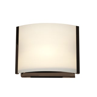 Access Lighting Nitro 2 1-light Bronze Vanity with Opal Shade
