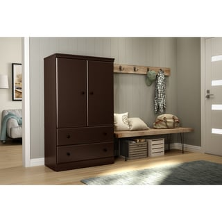 buy 60 to 69 inches armoires wardrobe closets online at overstock rh overstock com 60 wide wardrobe closet rubbermaid 60 inch wardrobe closet instructions