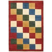 ecarpetgallery Hand-knotted Finest Ziegler Chobi Red Wool Rug (5'6 x 8'2)