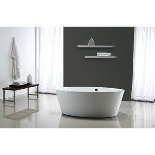 OVE Decors Marilyn Freestanding Bathtub