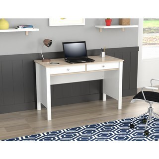Inval Laricina-White/ Beech Writing Desk