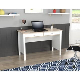 Inval Laricina-White/ Beech Writing Desk