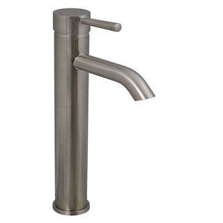 Brienza Moncalieri Brushed Nickel European Vessel Sink Faucet