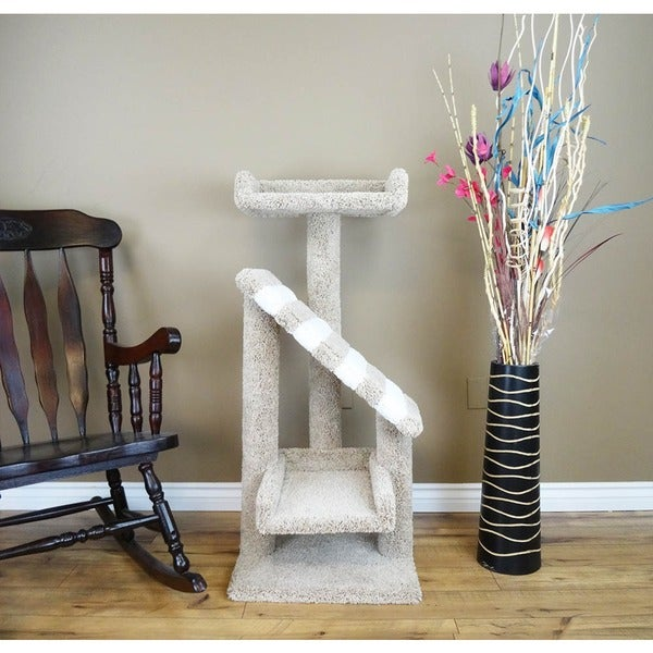 Shop New Cat Condos Premier Cat Tree With Ramp Free