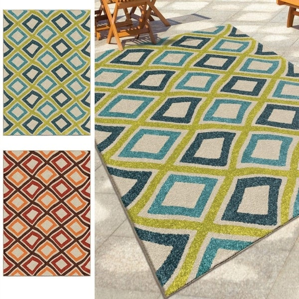 Palm Canyon Saturnino Multi Area Rug - 7'8 x 10'