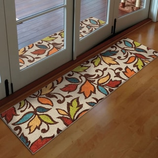 Carolina Weavers Indoor/ Outdoor Desiree Ivory Runner (2'3 x 8')