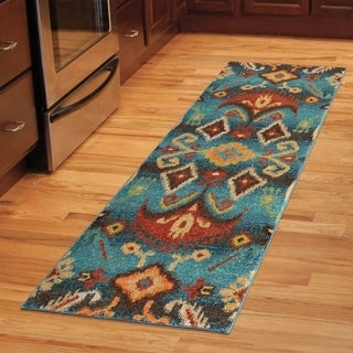 Carolina Weavers Bright Color Monaco Multi Runner (2'3 x 8')