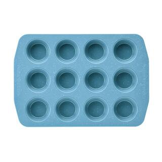 Paula Deen Speckle Nonstick Bakeware 12 Cup Muffin and Cupcake Pan|https://ak1.ostkcdn.com/images/products/11660464/P18590510.jpg?impolicy=medium