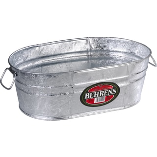 Hot Dipped Steel 2-5 Gallon Oval Tub
